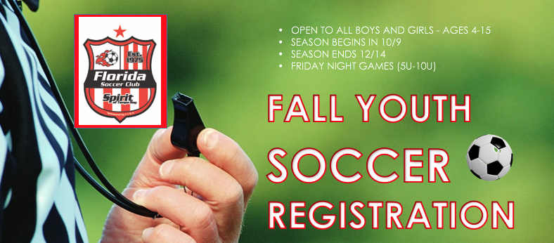 2018 Recreational Soccer LAST DAY TO REGISTER OCT. 6TH!