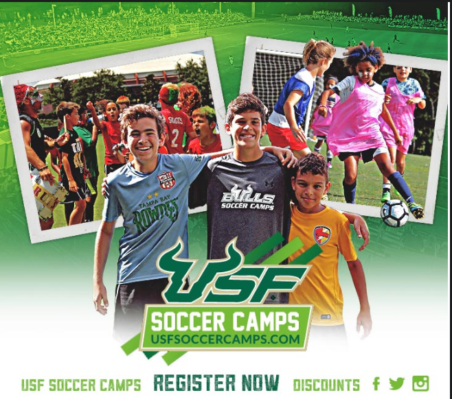 Sign Up For Usf Soccer Camps Discounts End March 15th Florida