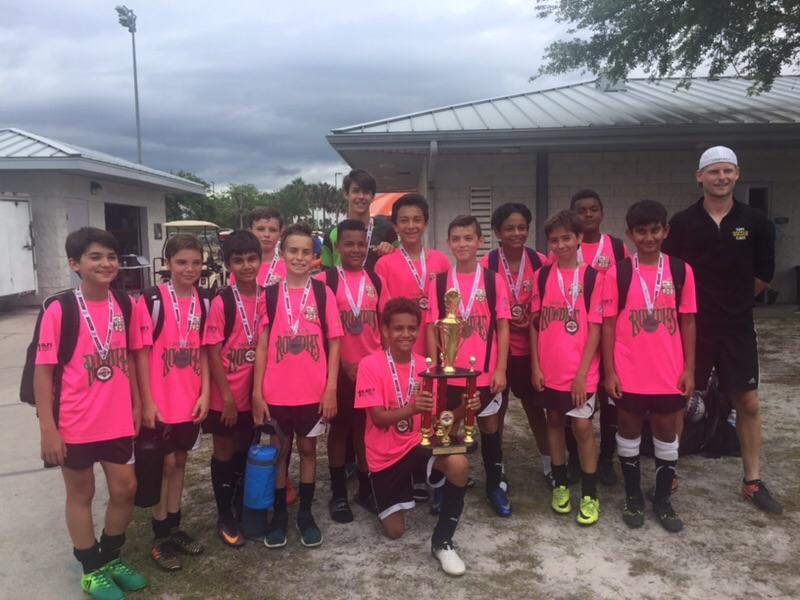U13 Boys continue to see success! – Florida Soccer Club