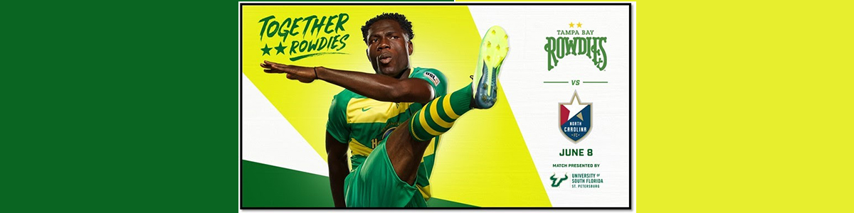Purchase your discount Rowdies tickets here!