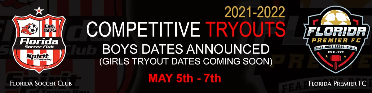 2021 – 2022 COMPETITIVE TRYOUTS